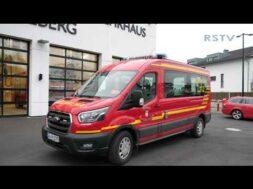 Neuer Mannschaftstransportwagen für die Löschgruppe Ost