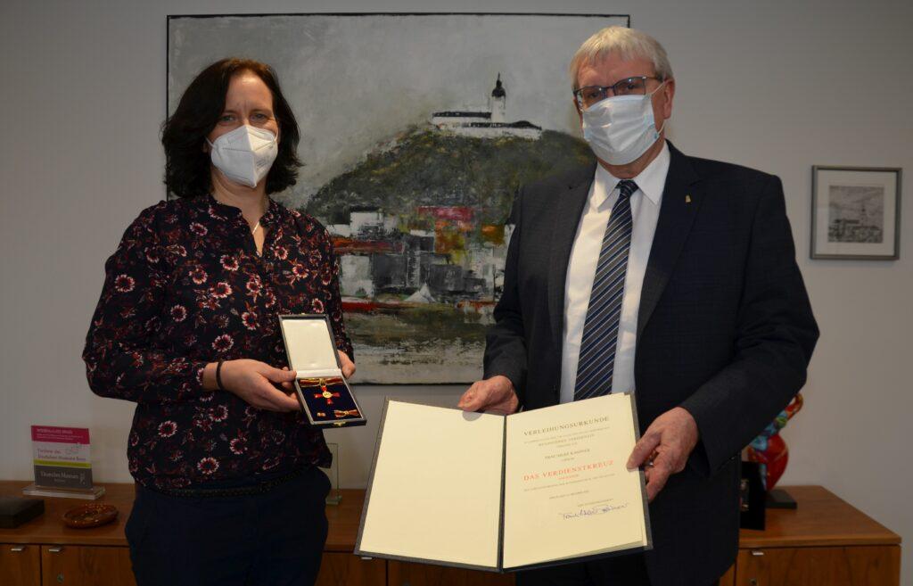 Verdienstkreuz für Silke Kassner aus Lohmar