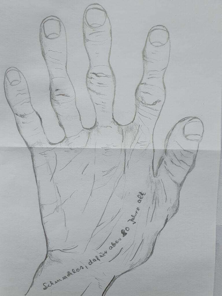 """""""Beschmuckt oder ganz natürlich"""" SINFO: Seniorinnen gestalten Hände"""