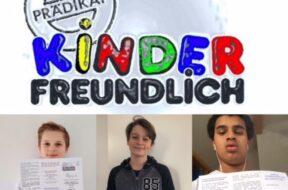 Prädikat Kinderfreundlich 2021 Collage