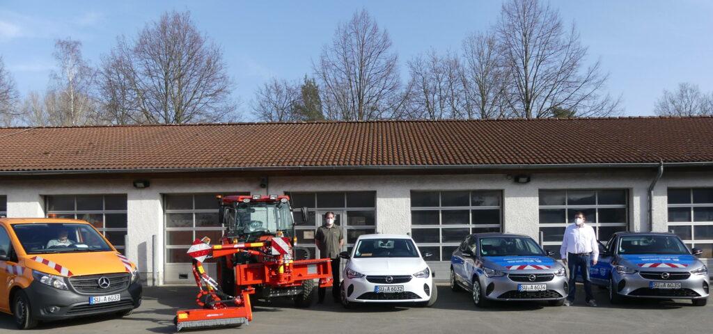 Stadt Sankt  Augustin beschafft neue Fahrzeuge