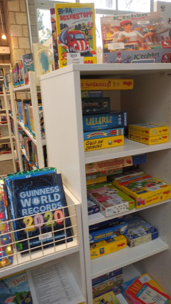 Gesellschaftsspiele in der Stadtbibliothek