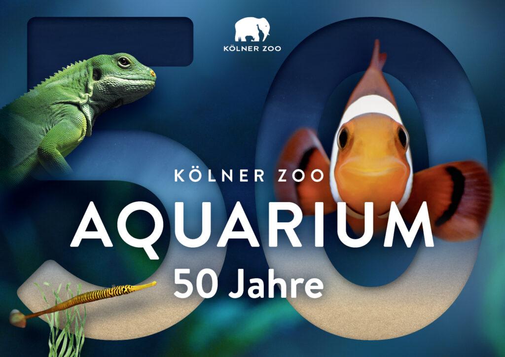 Kölner Zoo feiert 50 Jahre Aquarium