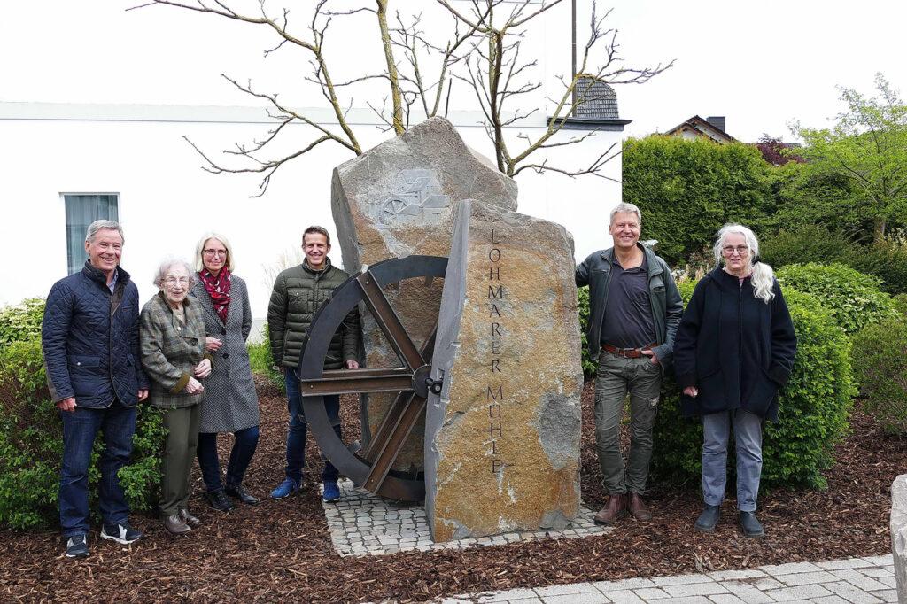 "Mühlen-Skulptur ""Lohmarer Mühle"" – Identitätsstiftendes Kunstobjekt"