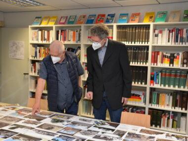 Stiefelhagen_Sammlunguebergabe im Archiv