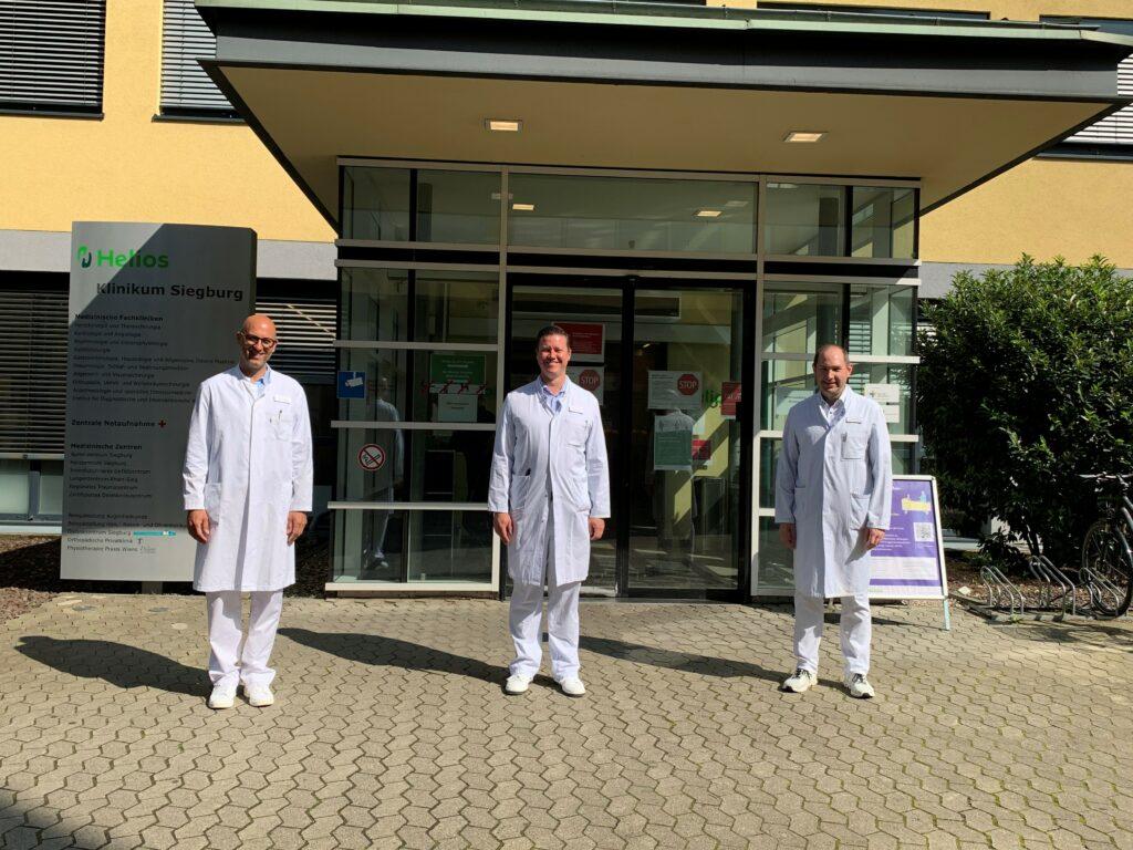Spezialisten für umfassende muskuloskelettale Chirurgie im Helios Klinikum Siegburg