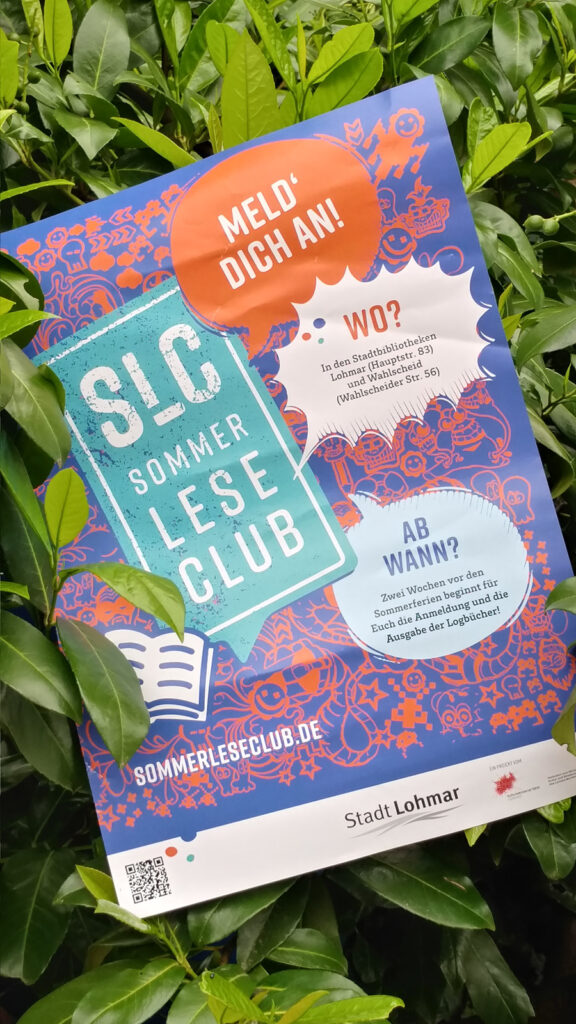SommerLeseClub 2021 – Ferienaktion der Stadtbibliothek