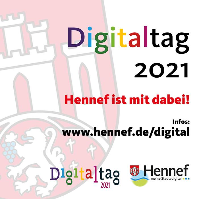 """Digitaltag 2021: """"Digitalisierung gemeinsam gestalten"""""""
