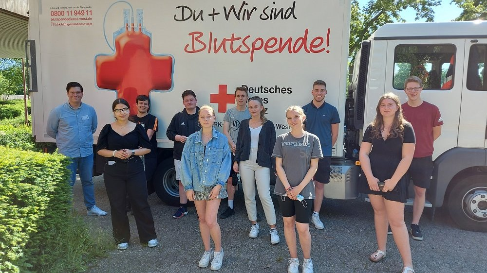 Oberstufengesamtschüler spenden Blut