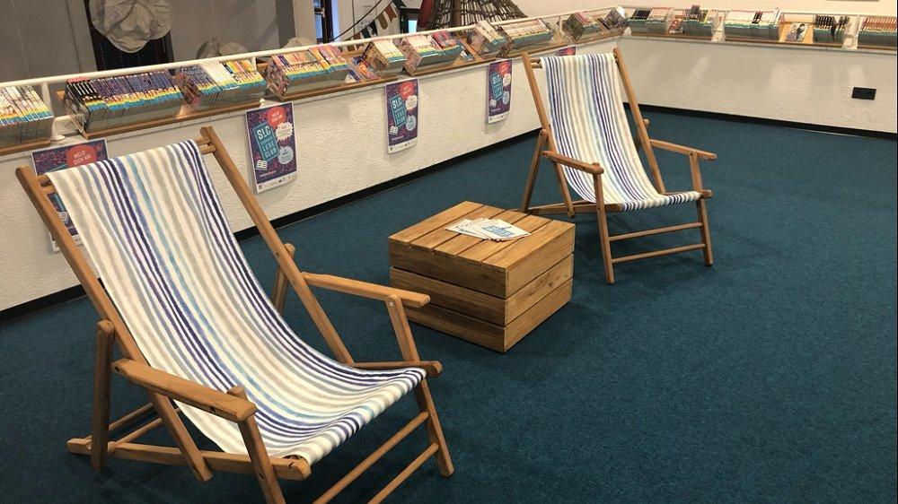 Sommer in der Bibliothek