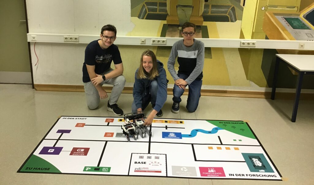 zdi-Roboterwettbewerb trotz Corona: Teams aus dem Rhein-Sieg-Kreis erfolgreich
