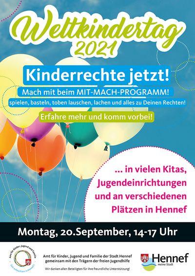 Dezentral – Weltkindertag in Hennef