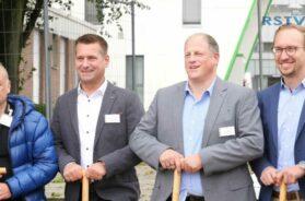 Erster Spatenstich an den GFO Kliniken Troisdorf –  Betriebsstätte St. Johannes
