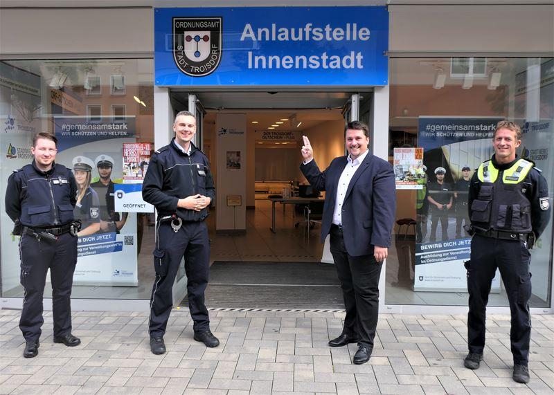 Neue Anlaufstelle in der Troisdorfer Innenstadt